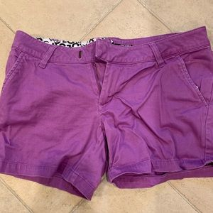 Volcom purple shorts